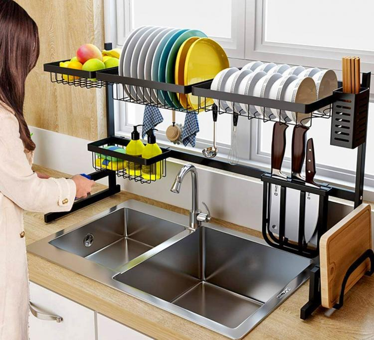 best Over The Sink Dish Rack