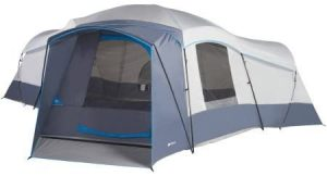 16 Person 23.5' x 18.5' with 3 doors and 3 rooms Cabin Tent