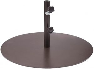 "Abba Patio 55 lb Patio Umbrella Base 28"" Heavy Duty Steel Outdoor Market Umbrella Base Stand"