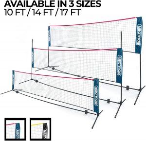 Boulder Portable Badminton Net Set