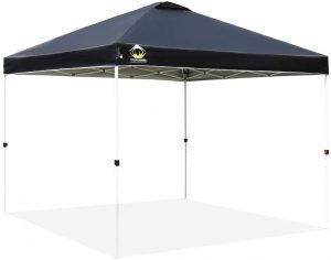 CROWN SHADES Patented 10ft x 10ft Outdoor Pop up Portable Shade Instant Folding Canopy