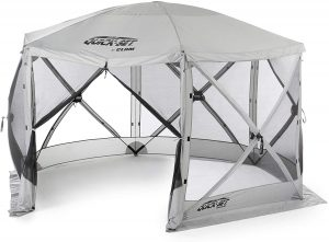 Clam Corporation Quick-Set Escape Portable Camping Outdoor Gazebo Canopy Tent