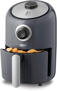 Dash DCAF150GBGY02 Compact Air Fryer Oven Cooker with Temperature Control