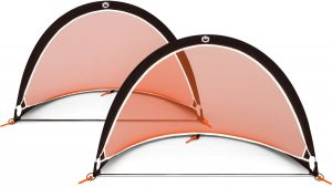 GOLME PRO Pop Up Soccer Goal - Two Portable Soccer Nets