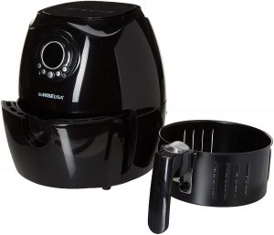 GoWISE USA GW22632 2.75-Quart Digital 50 Recipes for Your Air Fryer