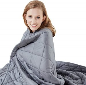 Hypnoser Weighted Blanket 15 lbs for Kids and Adults