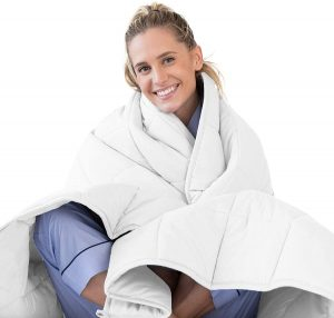 LUNA Adult Weighted Blanket | 15 lbs - 60x80 - Queen Size Bed