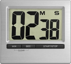 La Crosse Technology 38.2013.54 TFA Digital Countdown Timer and Stopwatch