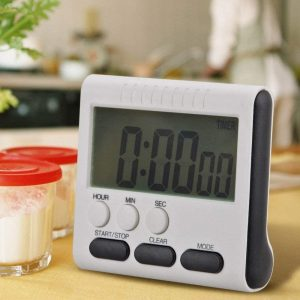 Multifunction Lcd Digital Kitchen Cooking Timer Count-Down Up Clock