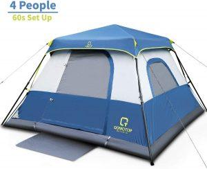 OT QOMOTOP Tents, 4 Person 60 Seconds Set Up Camping Tent