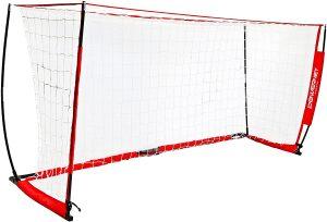 PowerNet Soccer Goal 12 x 6 | Portable Net Collapsible Metal Base