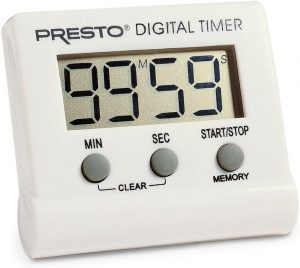 Presto 4213 04213 Electronic Digital Timer