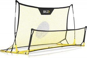 SKLZ Quickster Soccer Trainer Portable Soccer Rebounder Net for Volley