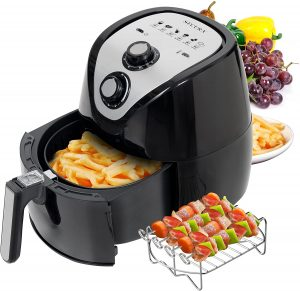 Secura Air Fryer 3.4Qt 3.2L 1500-Watt Electric Hot XL Air Fryers