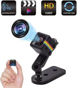 Spy Camera Wireless Hidden Camera, Mini Cop Cam As Seen On TV, Smallest Body Cam