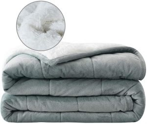 Syrinx Plush Weighted Blanket 15lbs