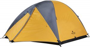 TETON Sports Mountain Ultra Tent 1 to 4 Person Backpacking Dome Tent for Camping