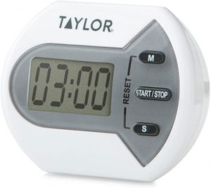 Taylor Precision Products Digital Minute Second Timer
