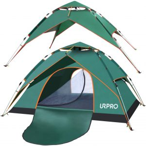 URPRO Family Camping Tent with shelter