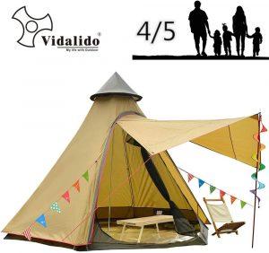 Vidalido 12'x10'x8'Dome Camping Tent