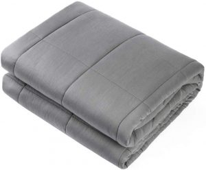 """Waowoo Adult Weighted Blanket Queen Size(15lbs 60""""x80"""") Heavy Blanket"""