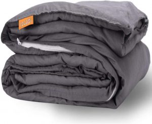 rocabi Cooling Weighted Blanket Adult Queen Size Summer Set | Heavy Blanket