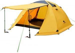 Geertop Portable 4 Person 4 Seasons Backpacking Tent