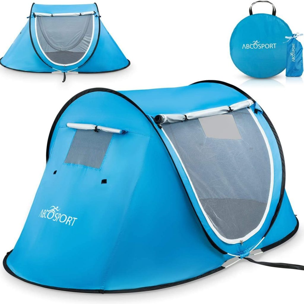 Abco 2 person instant pop up tent