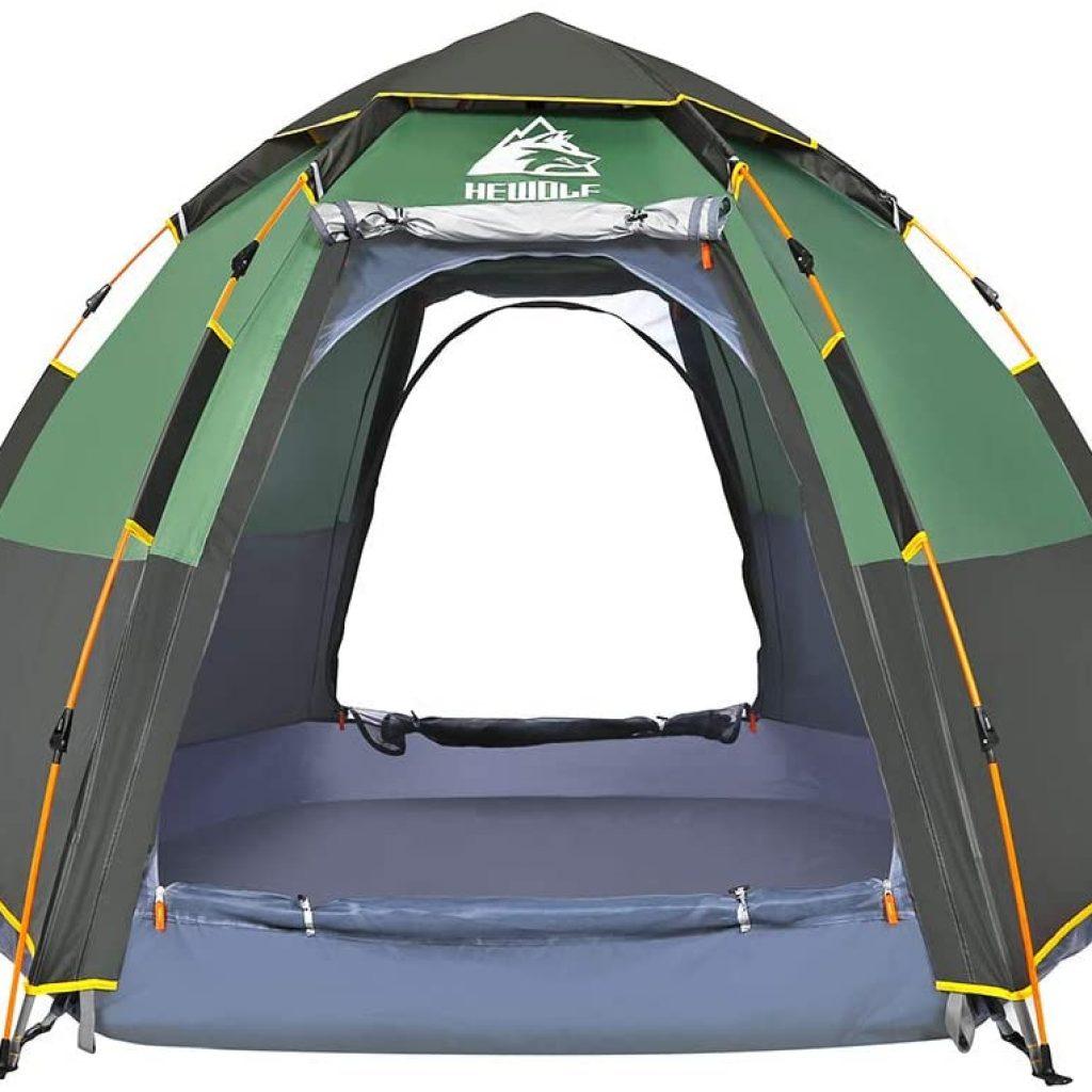 Hewolf Waterproof Instant Camping Tent