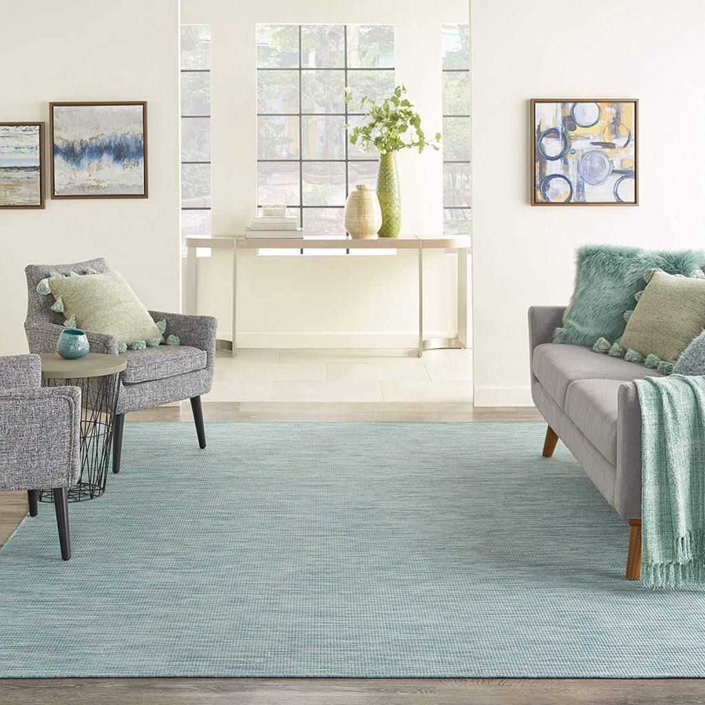 Nourison Positano Flat-Weave Indoor/Outdoor Rug