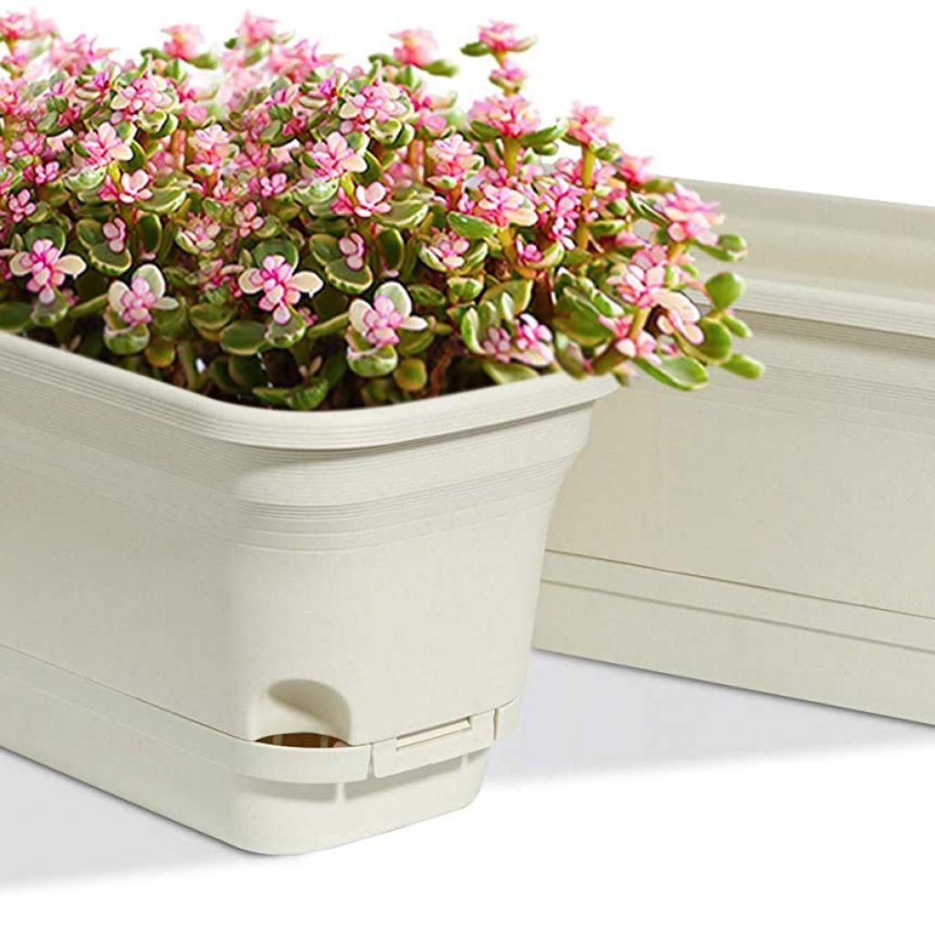 T4U Self Watering Planters Plastic Box