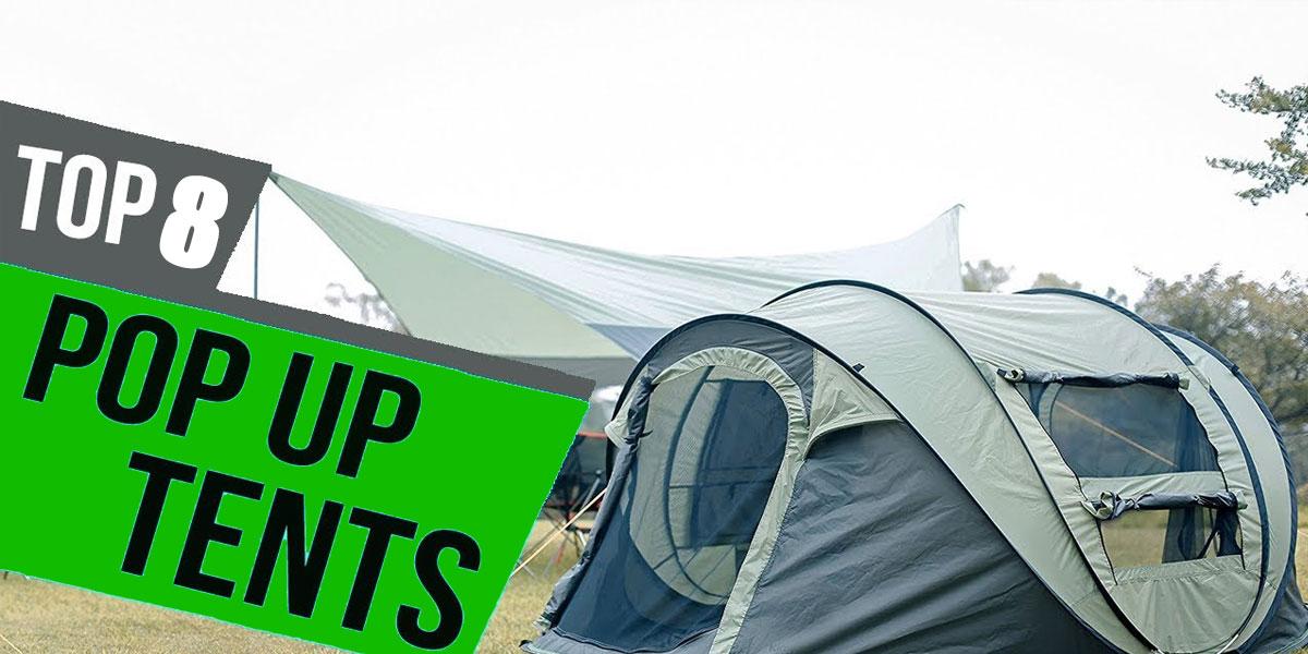 best 2 person pop up tent