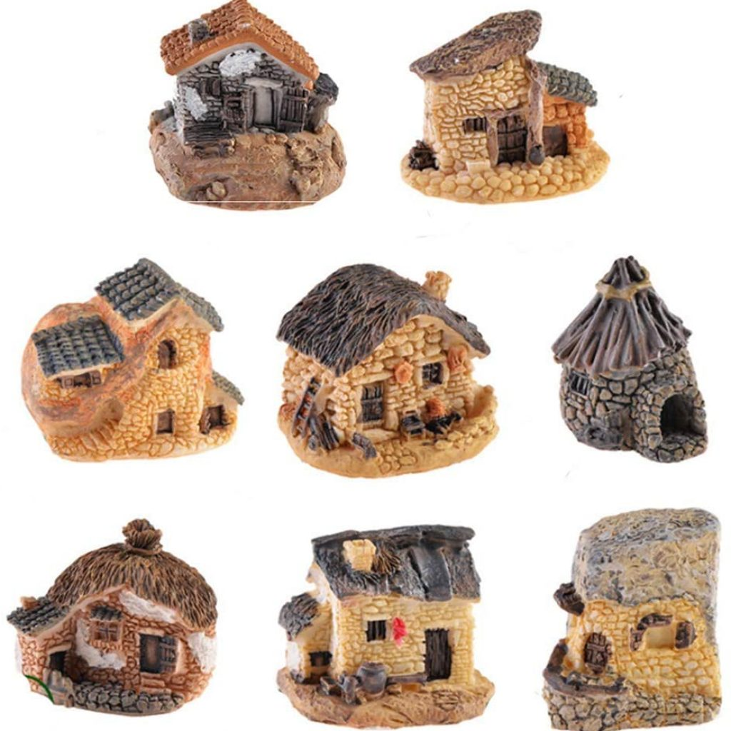 Resin Miniature Fairy Garden Kits