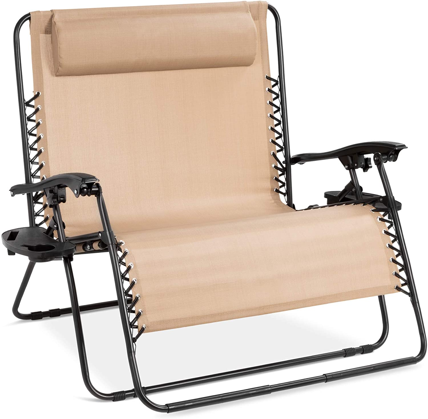 Best Choice Products 2-Person Double Wide Zero Gravity Chair