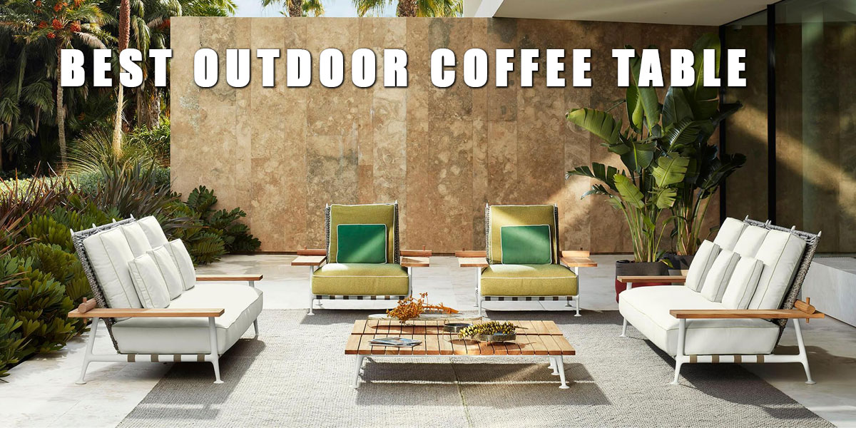best outdoor coffee table