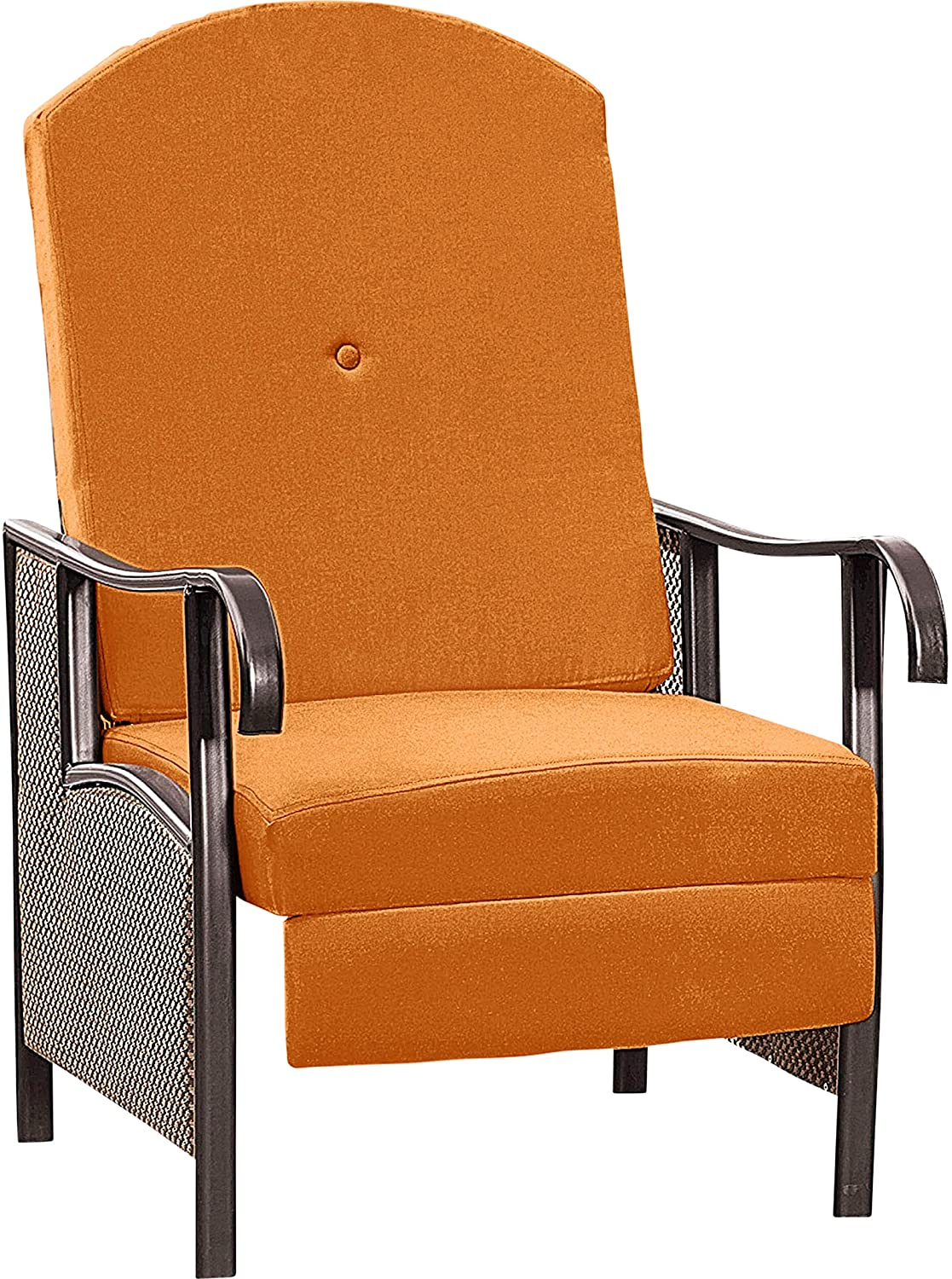 BrylaneHome Extra Wide Outdoor Recliner With Cushion