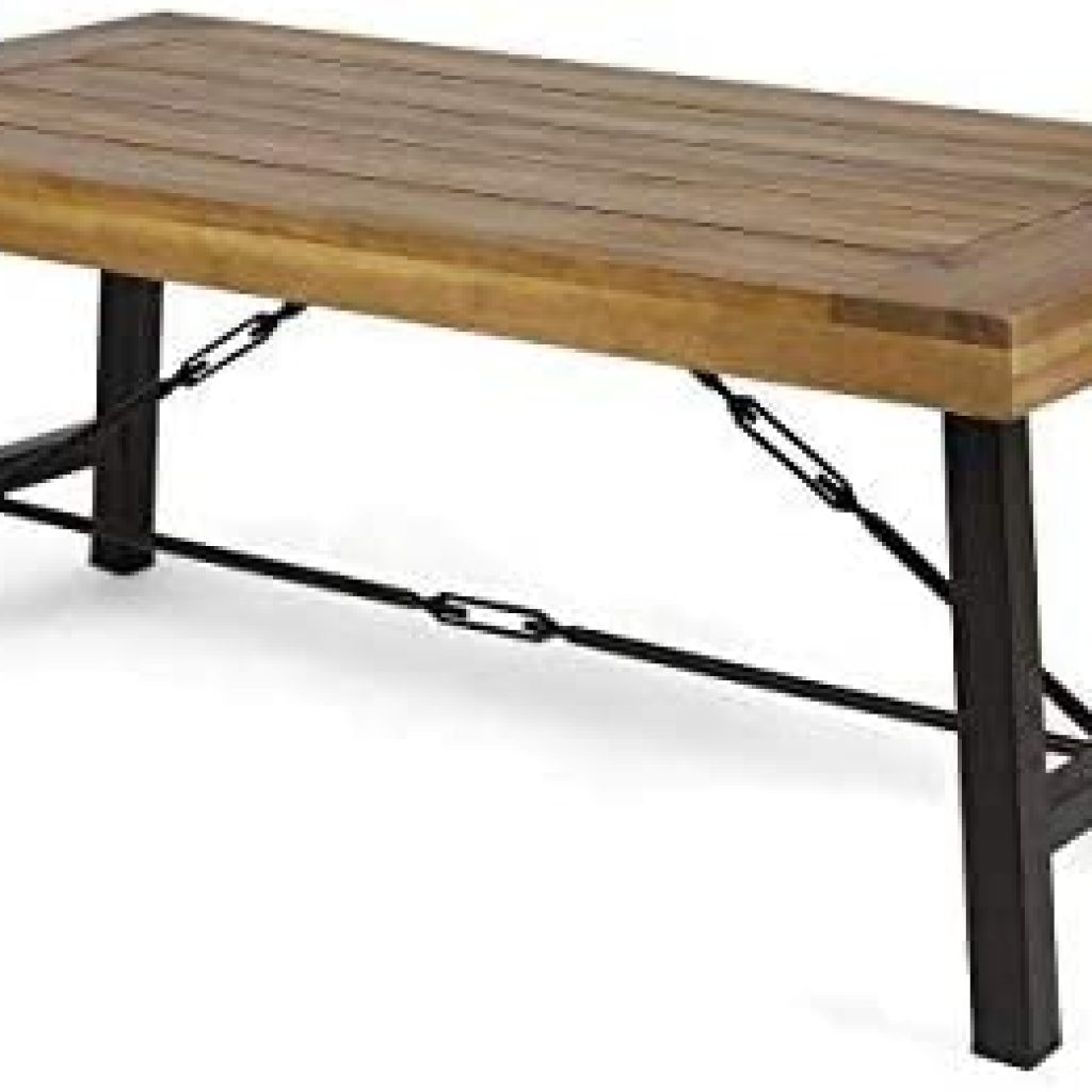 Christopher Knight Home Catriona Outdoor Acacia Wood Coffee Table
