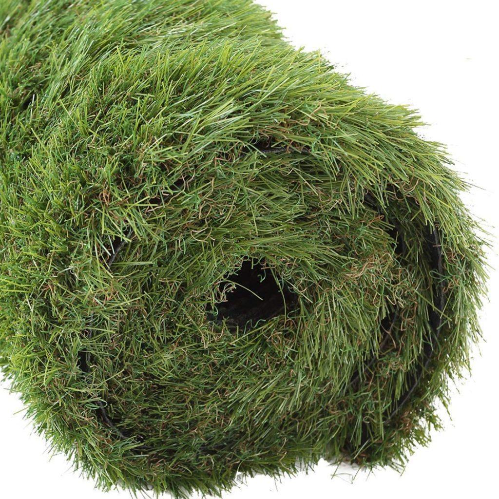 GOLDEN MOON Outdoor Turf Rug Premium Artificial Grass