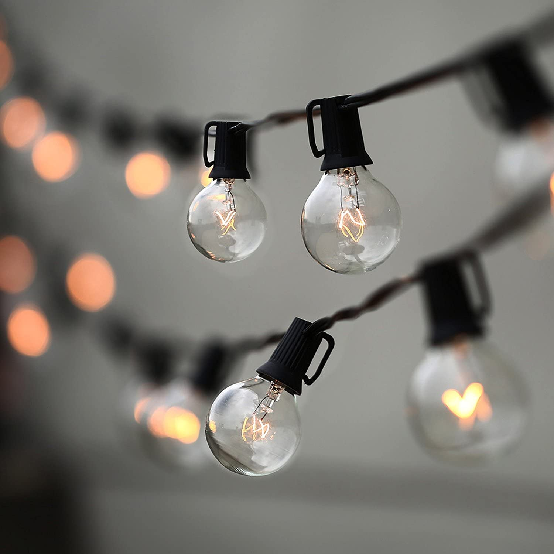 Lampat Globe String Lights with Bulbs