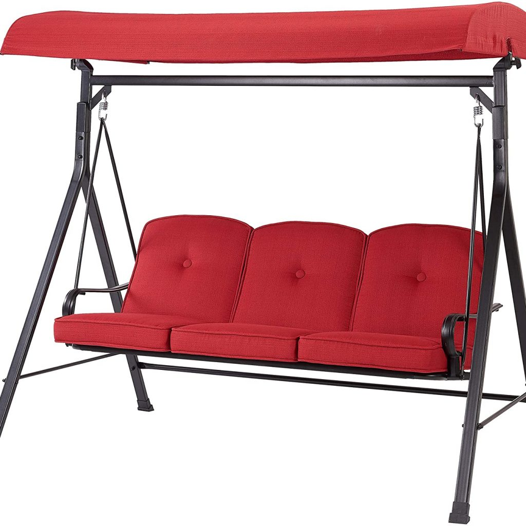 Mainstays Callimont Park 3-Seat Daybed Swing