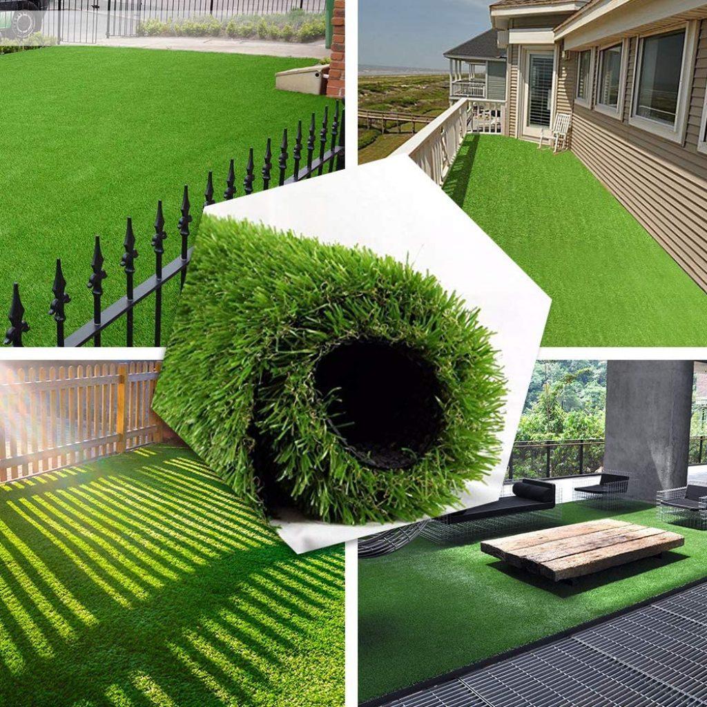 PET GROW Realistic Artificial Grass Rug