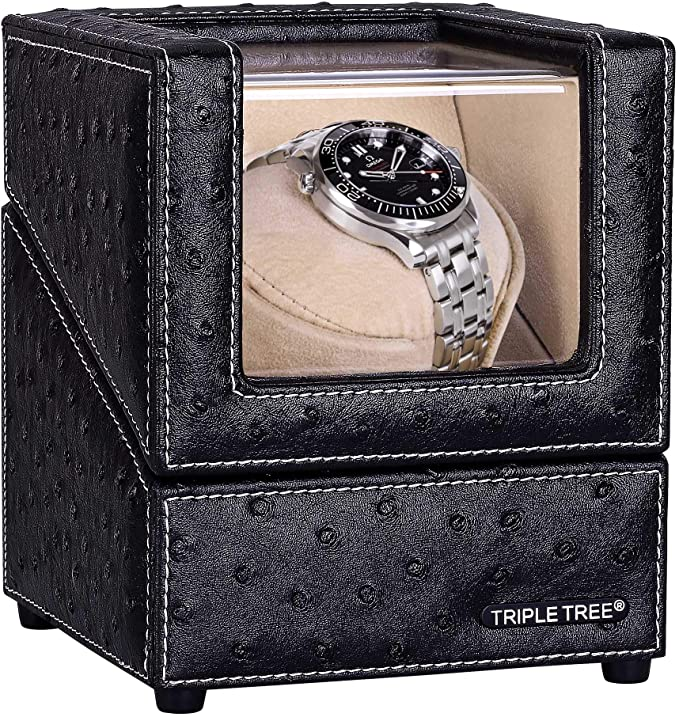 TRIPLE TREE Single Watch Winder for Automatic Watches