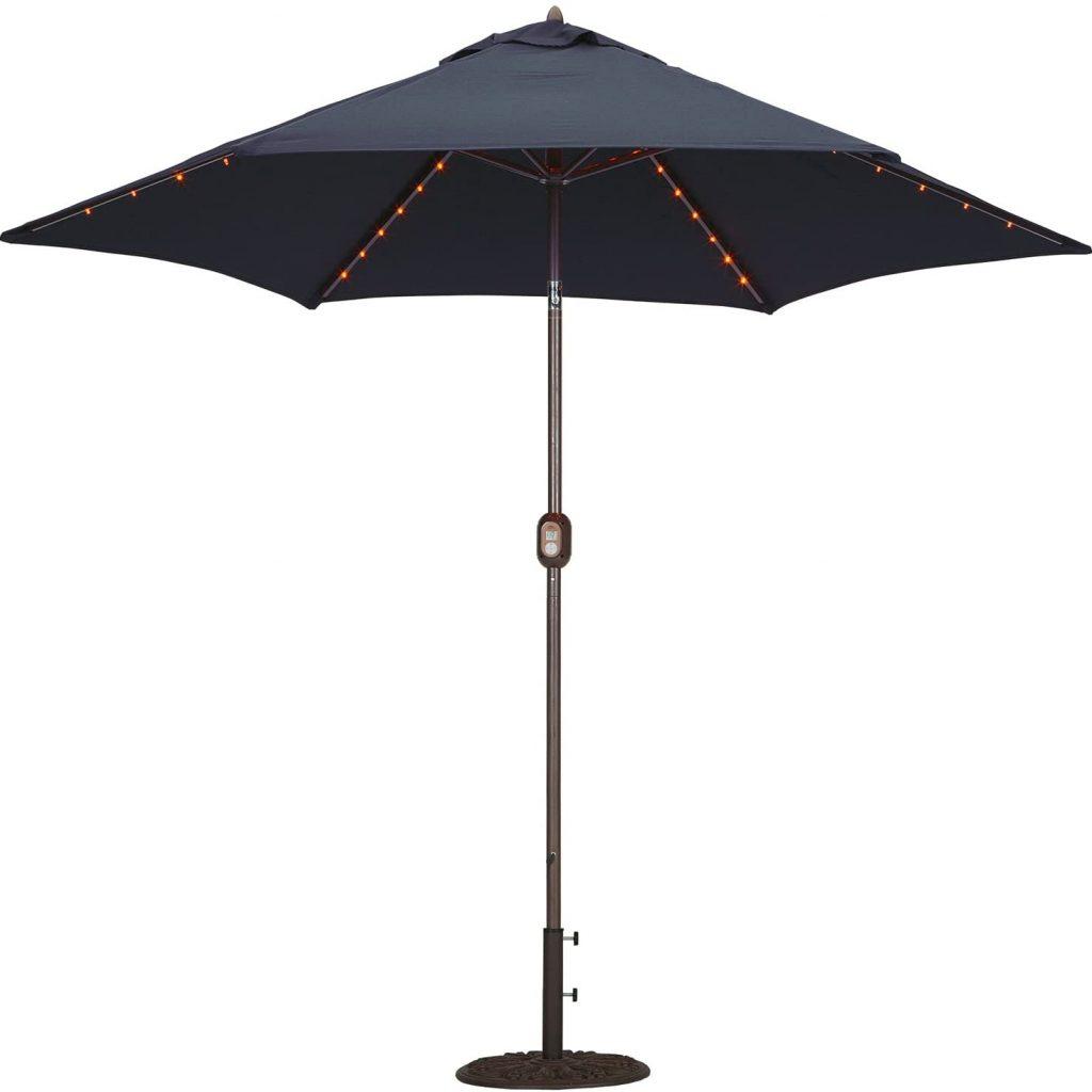 Tropishade Tropilight Aluminum Market Umbrella