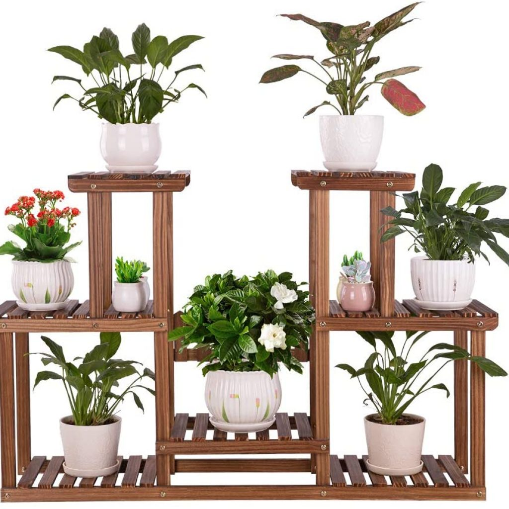 Ufine 4 Tier Small Plant Stand