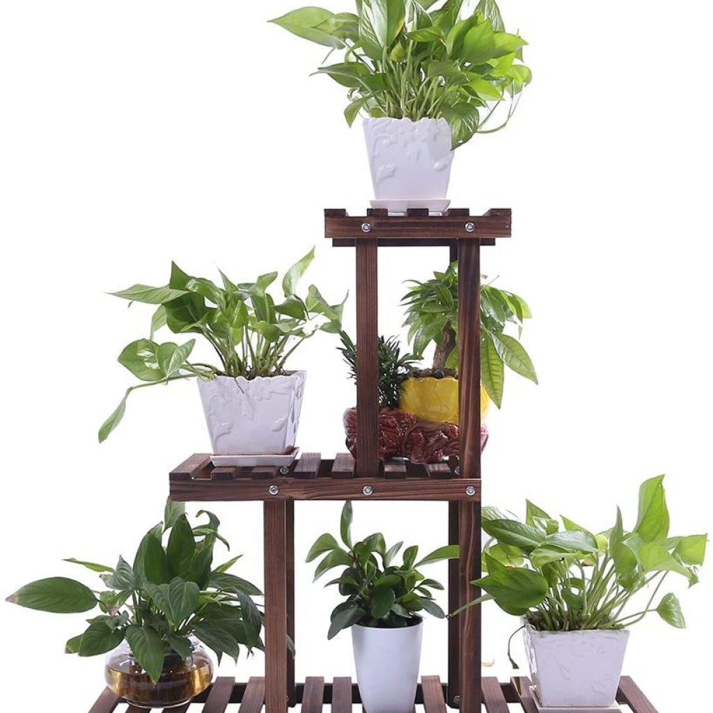 Ufine Wood Plant Stand