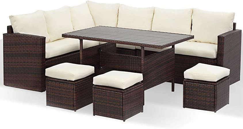 Wisteria Lane Patio Sectional Furniture Set