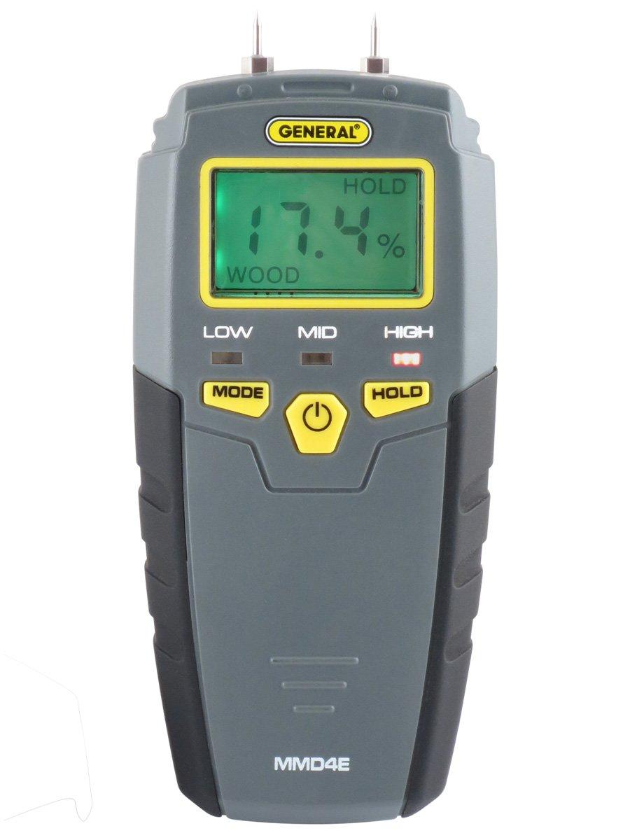 General Tools MMD4E Digital Moisture Meter