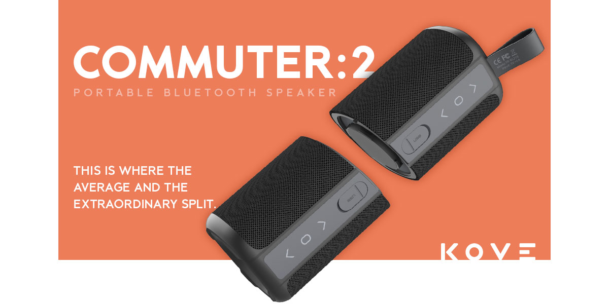 Kove Commuter 2 179-S - Portable Wireless Bluetooth Speakers Review